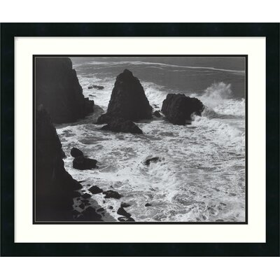 "Amanti Art Pacific Vista, 1966 by Ansel Adams, Framed Print Art - 22.32"" x 26.69"""