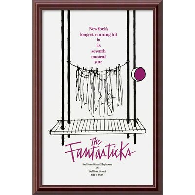 "Amanti Art The Fantasticks Framed Print Art - 24.01"" x 16.01"""