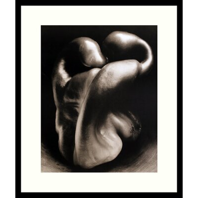Amanti Art 'Pepper No. 30' by Edward Weston Framed Photographic Print