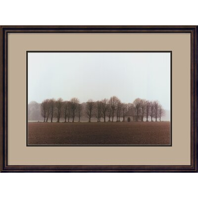 "Amanti Art Vallee de la Somme, France by Alan Klug, Framed Print Art - 20.68"" x 27.74"""