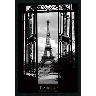 Eiffel Tower 1909 Framed Print Art - 37.66