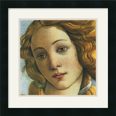 Amanti Art The Birth of Venus (Detail II) Framed Art Print by Sandro Botticelli