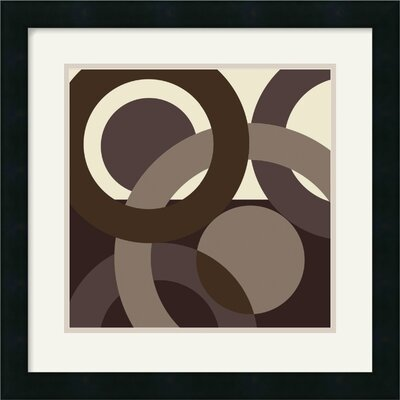 Amanti Art Circa Framed Art Print by Denise Duplock