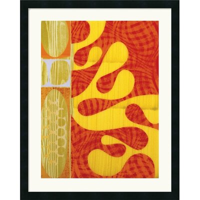 Amanti Art Lava Framed Art Print by Rex Ray