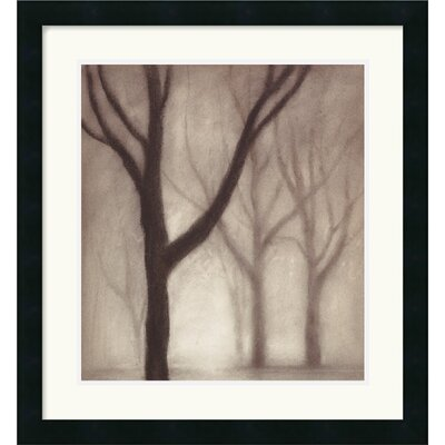 Forest I Framed Art Print by Gretchen Hess