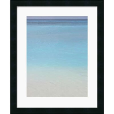Amanti Art Blue 2 Framed Art Print by Brian Leighton