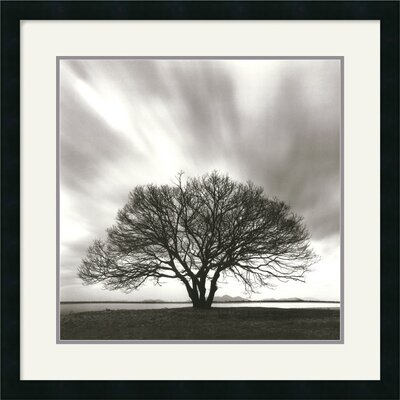 Night Clouds Framed Art Print by Michael Kenna