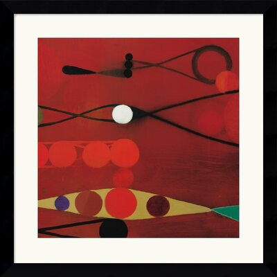 Red Seed #34 by Bill Mead Framed Fine Art Print - 32.62