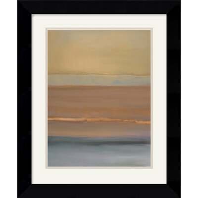 "Amanti Art Quiet Light II by Nancy Ortenstone Framed Fine Art Print - 22.62"" x 18.62"""