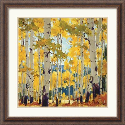"Amanti Art September Aspen by William Hook Framed Fine Art Print - 22.30"" x 22.30"""