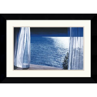 "Amanti Art Nocturne by Alice Dalton Brown Framed Fine Art Print - 24.87"" x 18.12"""