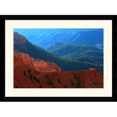 Lightplay on the Breaks by Andy Magee Framed Fine Art Print - 28.62