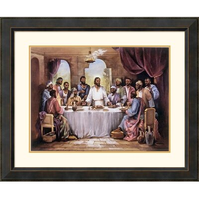The Last Supper by Quintana Framed Fine Art Print - 28.41