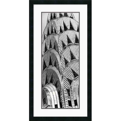 "Amanti Art Chrysler Building by Torsten Andreas Hoffman Framed Fine Art Print - 34"" x 17.5"""