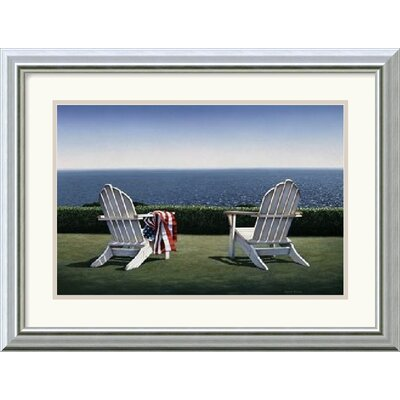 "Amanti Art Spring House View by Daniel Pollera Framed Fine Art Print - 15.99"" x 19.99"""
