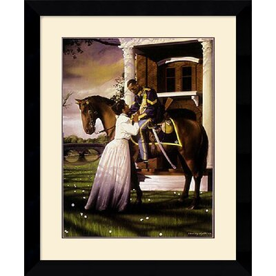 "Amanti Art Farewell by Edward Clay Wright Framed Art Print - 28.12"" x 22.62"""