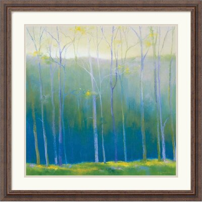 "Amanti Art Spring Leaves by Teri Jonas Framed Fine Art Print - 26.30"" x 26.30"""