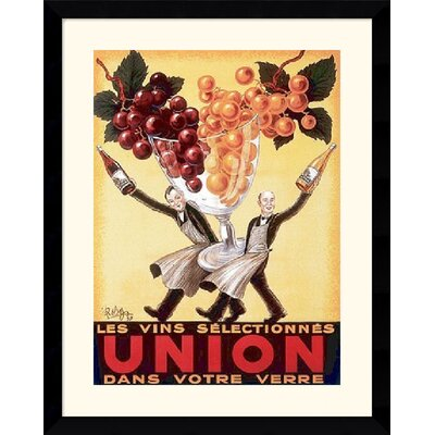 "Amanti Art Union, 1950  by Robys - Robert Wolff Framed Fine Art Print - 38.62"" x 31.62"""