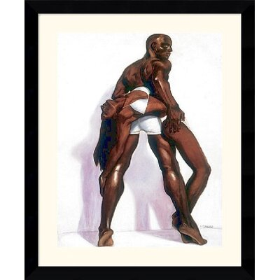 "Amanti Art Couple by Laurie Cooper Framed Fine Art Print - 33.62"" x 27.62"""