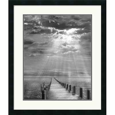 "Amanti Art Storm Clearing by Ellen Fisch Framed Fine Art Print - 27"" x 23"""