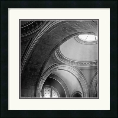 "Amanti Art Architectural Detail No. 51 by Ellen Fisch Framed Fine Art Print - 18"" x 18"""