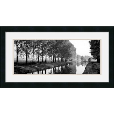 Basque Canal Framed Decorative Art Print - 14