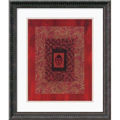 Buddha I by Ricki Mountain Framed Art Print - 20.18