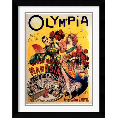 Amanti Art Olympia 1895 Framed Print by L. Galice