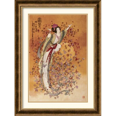 Amanti Art Goddess of Wealth Framed Art Print by Chinese
