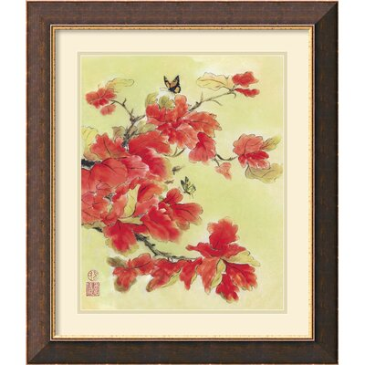Autumn Leaves I Framed Print by Suzanna Mah Fong