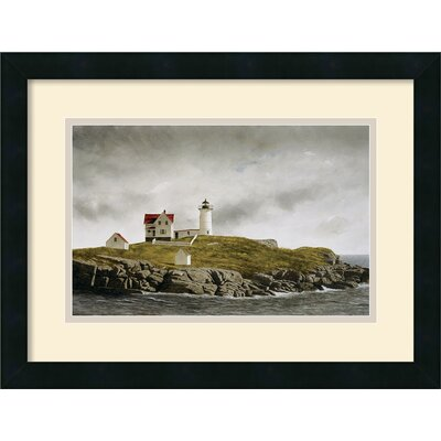 Nubble Light Framed Print by Doug Brega