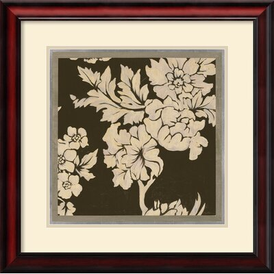 Textile Two Framed Print by Augustine