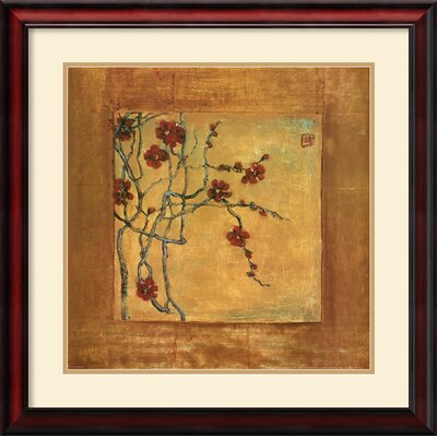 Amanti Art 'Chinese Blossoms I' by Jill Barton Framed Painting Print
