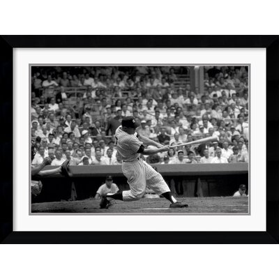 Amanti Art Out of the Park, 1956 Framed Print by Bettmann Archive