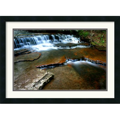 Collins Creek Framed Art Print by Andy Magee