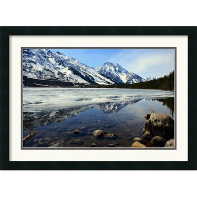 Amanti Art Grand Tetons at Jenny Lake Framed Print by Andy Magee