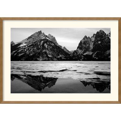 Amanti Art Teton Winter Framed Print by Andy Mage