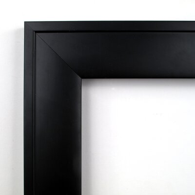 Amanti Art Nero Square Wall Mirror