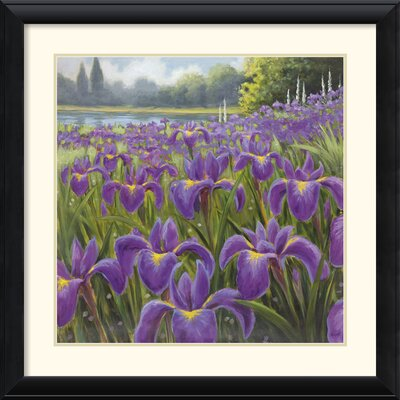 Amanti Art Gardenscape One Framed Print by Karen Dupre