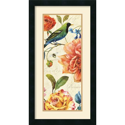 Amanti Art Rainbow Garden VI Cream Framed Print by Lisa Audit