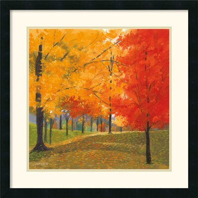 Bright Autumn Day II Framed Print by Lynn Krause