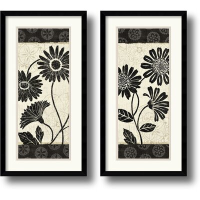 Influence Framed Print by Daphne Brissonnet (Set of 2)