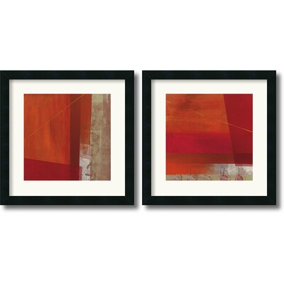 Amanti Art Andromeda and Cepheus Framed Print by Leo Burns (Set of 2)