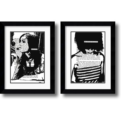 Amanti Art Her Story Framed Print set by John Clark