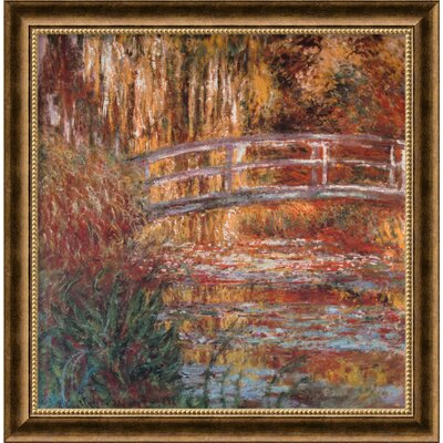 Amanti Art The Water-Lily Pond, 1900 Framed Print Wall Art
