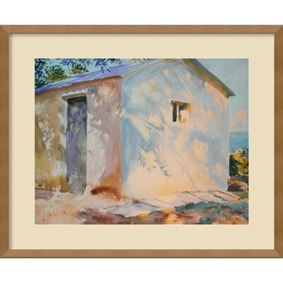 Amanti Art Corfu: Lights and Shadows Framed Print Wall Art