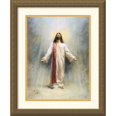 "Amanti Art Eternal Life by Richard Judson Zolan Framed Fine Art Print - 22.12"" x 18.12"""