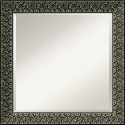 Amanti Art Intaglio Square Wall Mirror