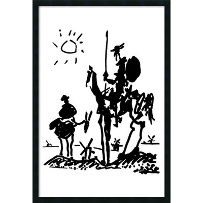 Amanti Art Don Quixote Framed Print Art