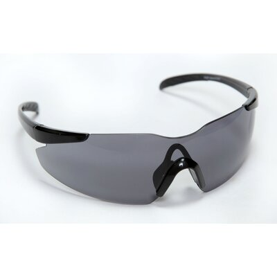 Opticor Safety Glasses Frameless Design with Gray Lens